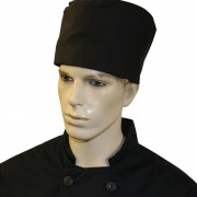 Large Unisex Chefs Skull Caps (Pack of 3), Made in England