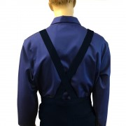 Bib and Brace Dungarees (Navy), Made in England