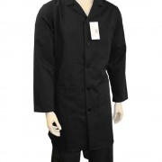 Warehouse Unisex Coat - Fastened with 5 buttons, Back Vent for Movement, Made in England