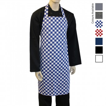 Catering Long Bib Apron, Made in England