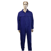 Coveralls Front Fastening with brass zip
