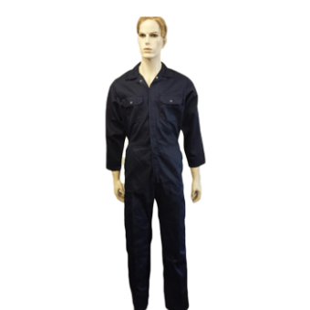 Coveralls Front Fastening with zip, Made in England