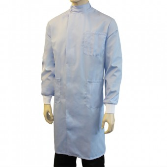Healthcare Howie Coat with Mandarin Collar