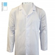 CATERING JACKET FASTENED WITH 5 CONCEALED STUDS & TOP POCKET WITH PEN DIVISION, 2 LOWER POCKETS