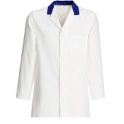 Catering Jacket with BLUE collar