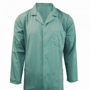 Hospital Unisex Jacket Fastened with Concealed Studs and 3 internal pockets, Made in England
