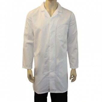 Healthcare Laboratory Coats with 1 Pocket, Made in England