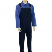 Bib and Brace Dungarees (Navy)