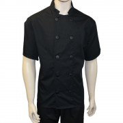 Chefs Jackets with 10 Buttons - Short sleeves