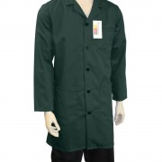 Warehouse Unisex Coat - Fastened with 5 buttons, Back Vent for ease of movement, Made in England