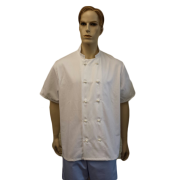 Chefs Jackets with 10 Removable Buttons - Short sleeves