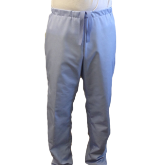 Unisex Hospital Trousers with Pull Cord Waist & back pocket, Made in England