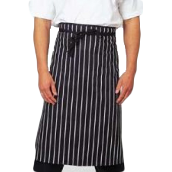 Chefs/ Butchers Stripe Waist Apron, Made in England