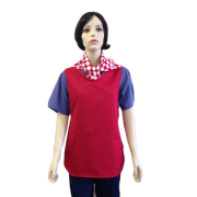 Tabard with side pockets - Self Binding