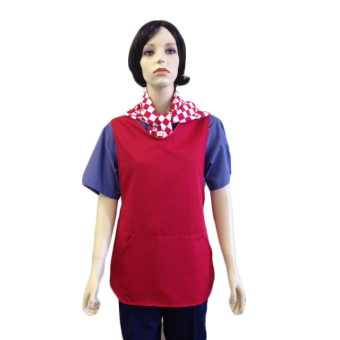 Tabard with side pockets - Self Binding, Made in England