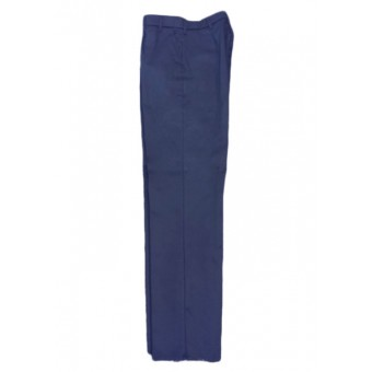 PolyCotton Warehouse trouser with Sewn-in Front Crease, Made in England