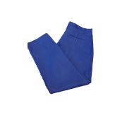 Flame Retardant Warehouse trouser with Jet Pocket Fastened with Button - Brass Zip, Made in England