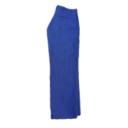 Flame Retardant Warehouse trouser with Jet Pocket Fastened with Button - Brass Zip