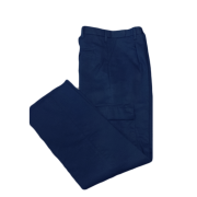 PolyCotton Cargo trouser with Combat Pockets & Jet Back Pocket with Button, Made in England