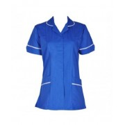 Hospital Tunic Fastened with Front Zip, Made in England