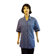 Hospital Tunic piping on Pockets, Arms & Collars, Made in England