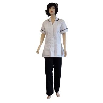 Hospital Tunic Fastened with Concealed Studs, Made in England